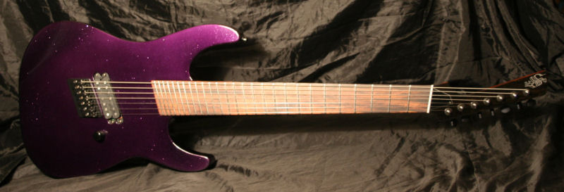 siggery fanned fret 7 string